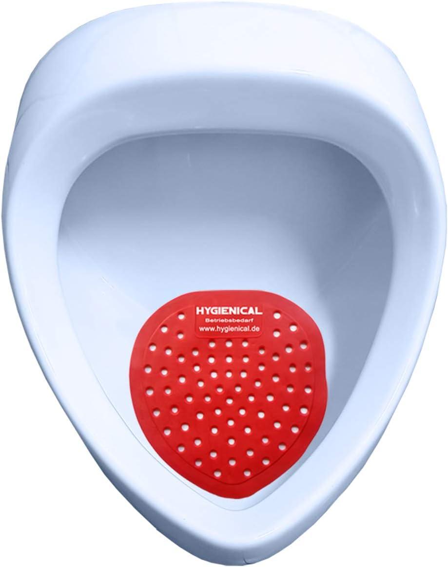 HOOMAGIC 10 St/ück Urinalsieb mit Duft Urinal mit Frischeduft und Spritzschutz Pissoirsieb Urinaleinlage Lufterfrischer f/ür jedes Pissoir und Urinal