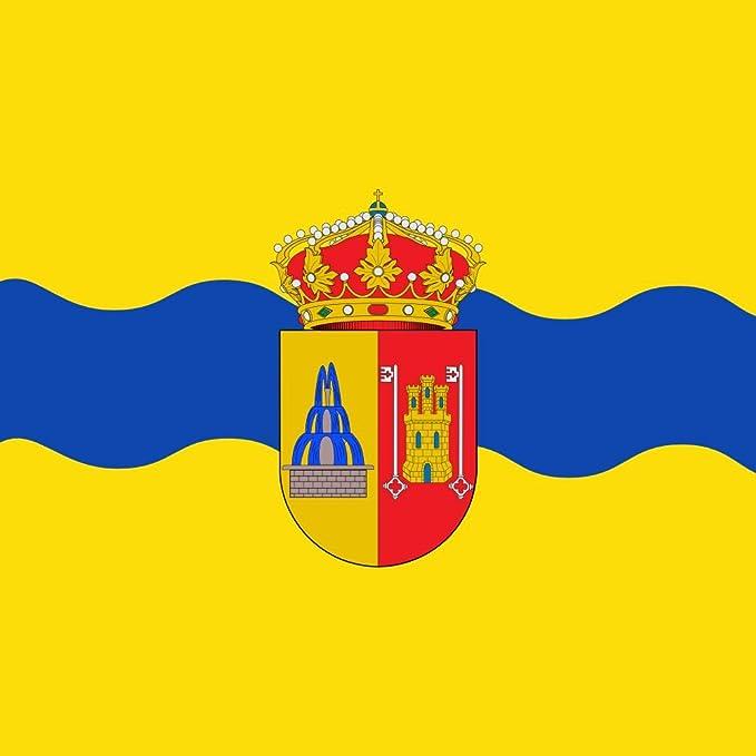 magFlags Bandera Large Municipio de Barbolla Castilla y León, España | 1.35m² | 120x120cm: Amazon.es: Jardín