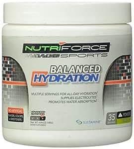 Nutriforce Balanced Hydration Protein Powder, Citrus, 4.94 Ounce