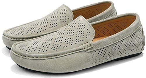 Zapatos Beige 38 Hombre para Transpirable 49 JOOMRA Mocasines 5 5qAnU