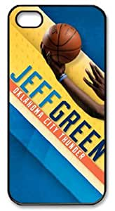 LZHCASE Personalized Protective Case for iPhone 5 - Jeff Green, NBA Oklahoma City Thunder #22