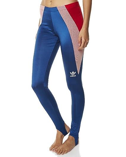 a8110379df8fe Amazon.com: Adidas Originals Women's Archive Leggings Retro Vintage Small  Marine Blue: Sports & Outdoors