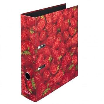Herlitz   ordner max.file a4 8cm früchte sortiert 6 stück sortiert ...