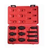 Baoen 10 Pcs Flywheel Wrench Sockets Set for Car Auto Motorcycle Kit
