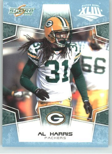 (2008 Donruss - Score Limited Edition Super Bowl XLIII GLOSSY # 112 Al Harris - Green Bay Packers - (Serial #d to 250) NFL Trading)