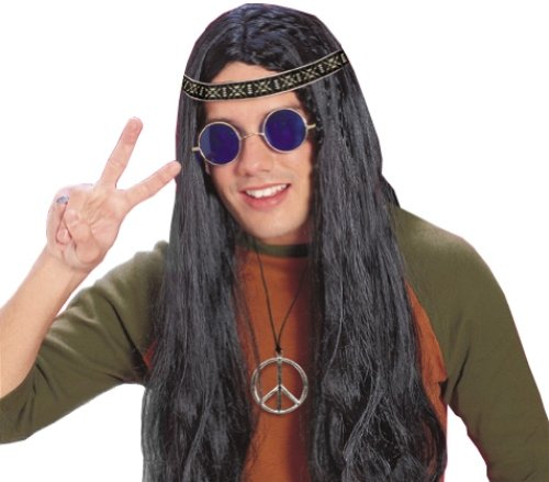 Rubie's Costume Feeling Groovy Male Hippy Accessory Kit, Multicolored, One - Hippy Costume