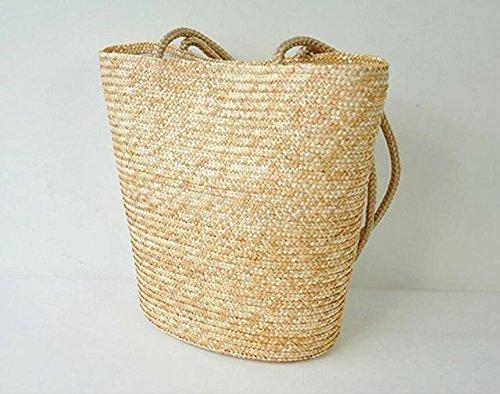 Sacchetto Semplice Stile Elegante Meaeo Bag Tessuto Spiaggia Ed Europeo Gestisce Oxnqt5RwC