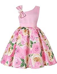 2-9T Flower Girls Dresses Kids Formal Dress