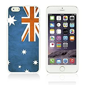 OnlineBestDigitalTM - Flag Pattern Hard Back Case for Apple iPhone 6 Plus (5.5 inch) Smartphone - Australia by icecream design