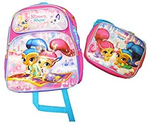 nickelodeon shimmer and shine backpack w. Black Bedroom Furniture Sets. Home Design Ideas