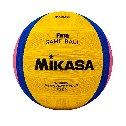 - Mikasa 2012 London Olympic Water Polo Game Ball (Yellow/Blue/Pink, Size 5)