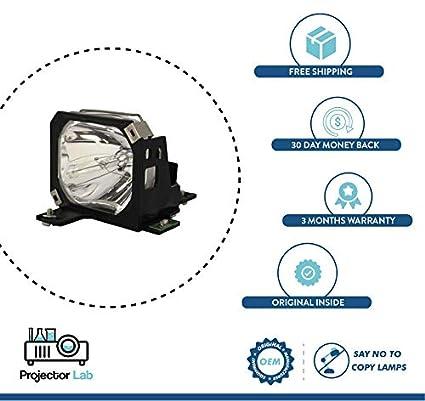 Original Manufacturers Lamp (OEM) Foco de Repuesto para EPSON ...