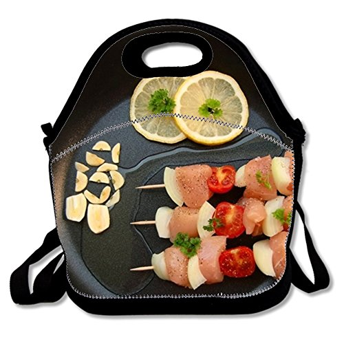 Custom Lunch Bag Waterproof Picnic Tote Insulated Cooler Zipper Box, Cooking Dinner - Dinner Summer Mist