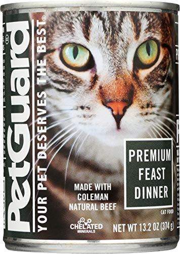 PetGuard Premium Feast Dinner Canned Cat Food,  13.2-oz, case of 12