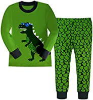 Kidslove Boys Pajama Sets 100% Cotton Sleepwear O-Neck Size 2-7 Years