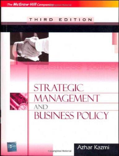 Strategic Management Books Pdf
