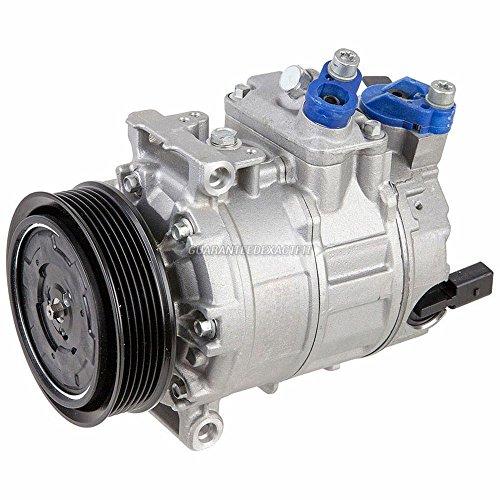 Volkswagen Passat Ac Compressor (Brand New Premium Quality AC Compressor & A/C Clutch For VW Volkswagen And Audi - BuyAutoParts 60-02038NA New)