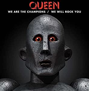 We Are The Champions / We Will Rock You RSD single : Queen