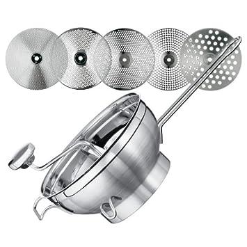 Rösle Küchengeräte - Passetout Set - mit 5 Siebeinlagen und ...