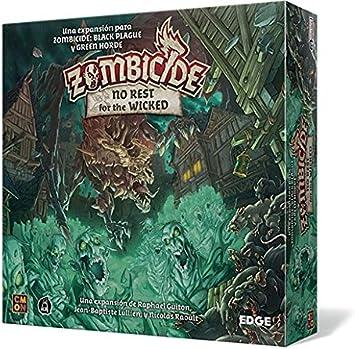 Edge Entertainment- Zombicide Black Plague: No Rest for The Wicked - Juego de Mesa en Castellano (EECMZB04): Amazon.es: Juguetes y juegos