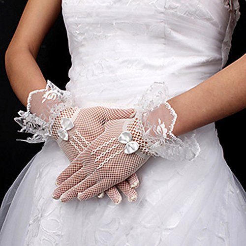 Ulike2 Bow Flower Girl's Special Occasion Dress&wedding Gowns Gloves Bridal Dresswedding Gown