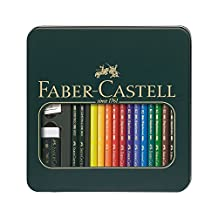 Polychromos Colored Pencil Set In Metal Tin 16pc-Mixed Media