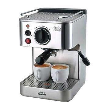 Cafetera TSK-1819A Máquina De Café Comercial Semiautomática Italiana Comercial Doméstica De Vapor Completa: Amazon.es: Hogar