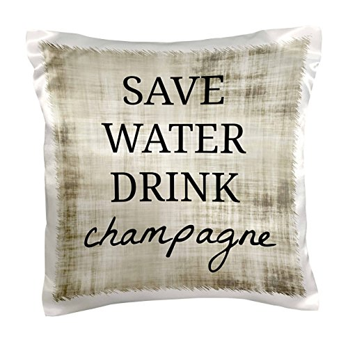3dRose pc 224241 1 Water Champagne Pillow
