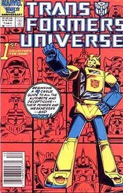 Comic Universe Transformers (Transformers Universe (Volume 1, #1))
