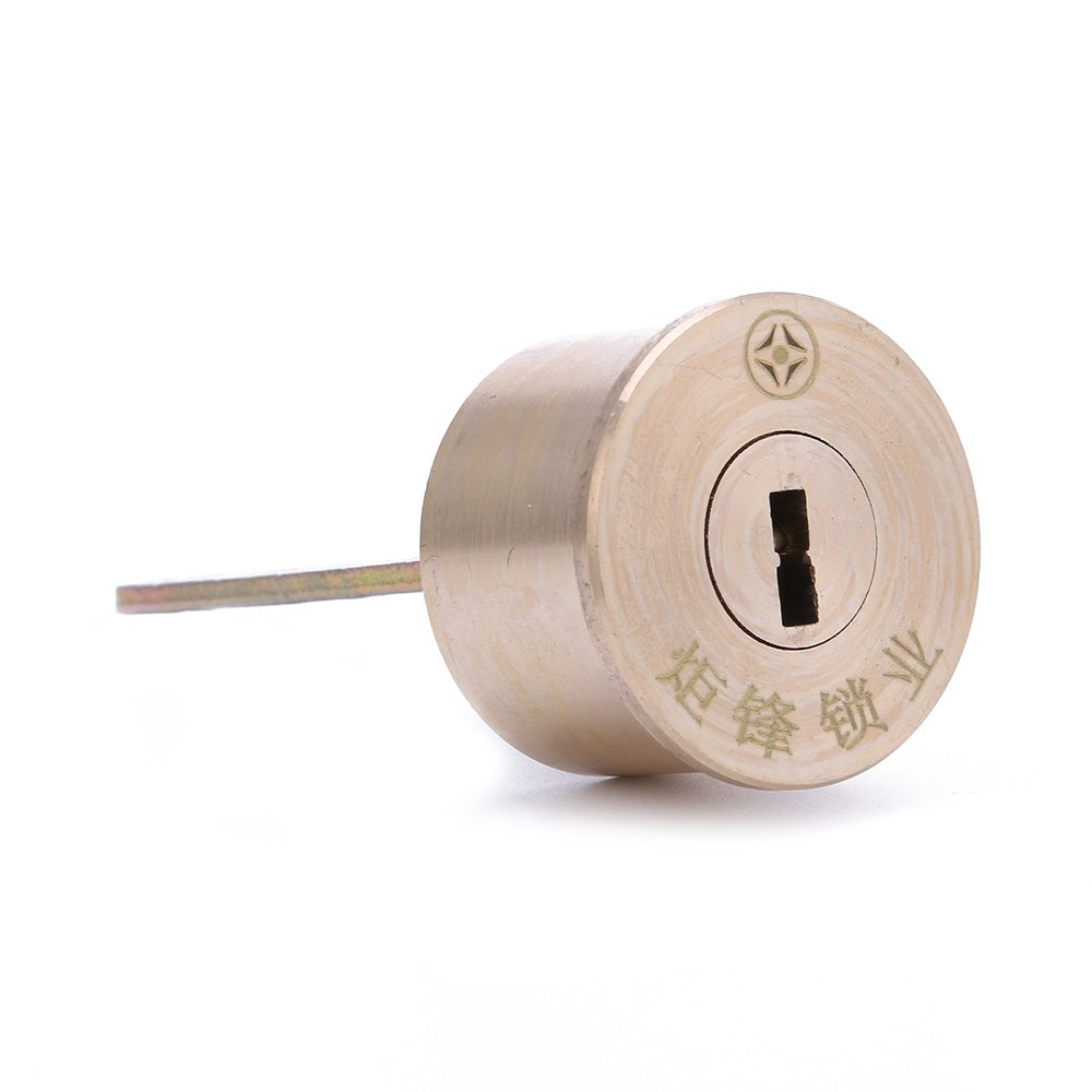 Copper T Head Lock With Smart Keys For Home Gate Furniture (f)