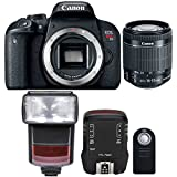 Canon EOS Rebel T7i 24.2MP Digtal SLR Camera with 18-55mm IS STM Lens , TTL Speedlite Flash and Accessory Kit
