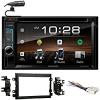 Kenwood DVD/iPhone/Bluetooth/USB Receiver Stereo Radio For 2004-2006 Ford F-150