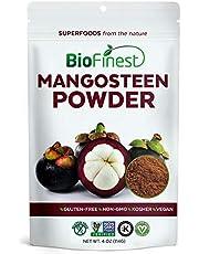 BioFinest Mangosteen Juice Powder - 100% Pure Freeze-Dried Antioxidants Superfood - Usda Certified Organic Kosher Vegan Raw Non-Gmo - Boost Digestion Heart Health - For Smoothie Beverage Blend