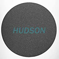 HUDSON 8 inch SiC, C-Weight Paper, Wet/Dry. Metallurgical Paper Plain Back 1200 Grit Abrasive Discs 100 Pack