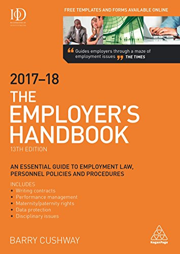 The Employer's Handbook 2017-2018 ()