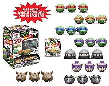 Funko MyMoji TMNT Teenage Mutant Ninja Turtles Mini Toy ...