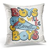 SPXUBZ Baby Skate Board Boys Graphics Sport Tee Decorative Home Decor Square Indoor/Outdoor Pillowcase Size: 20X20 Inch(Two Sides)