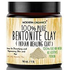 Molivera Organics Bentonite Clay for Det...