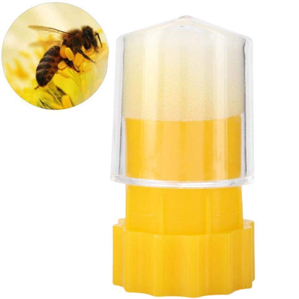 Bee Queen Marking Marker Cage Bottle Plunger push Beekeeping Beekeeper Tool