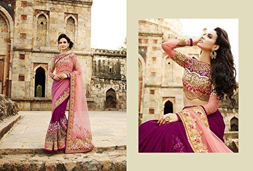 Delisa Fashion Ethnic Designer Bollywood Party Wear Pakistani Indian Saree tirupati by Delisa (Image #2)