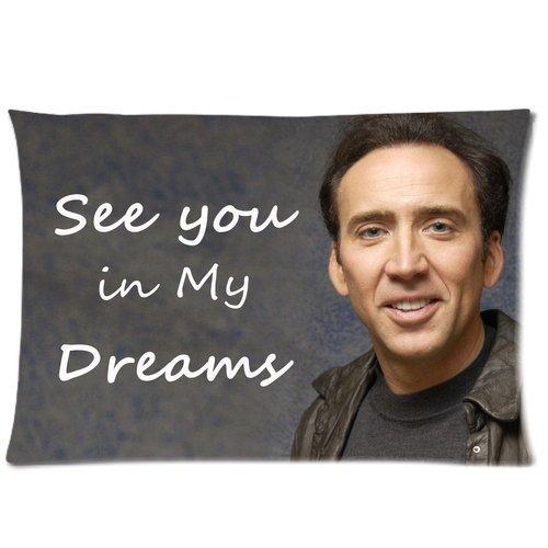 Nicolas Cage carcasa manta de la funda de almohada 16 x 24 ...