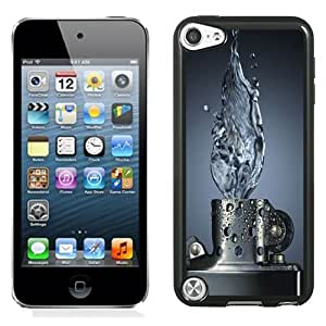 NEW Unique Custom Designed iPod Touch 5 Phone Case With Water Zippo Lighter Abstract_Black Phone Case