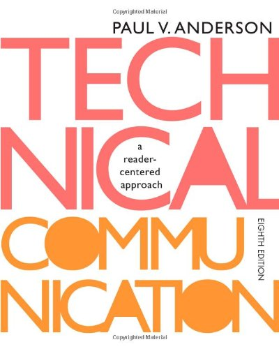 Technical Communication: A reader-centered approach, 8th Edition cover