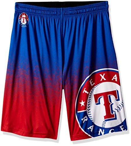 (Texas Rangers 2016 Gradient Polyester Short Large)