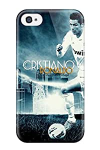 New Diy Design Cristiano Ronaldo Real Madrid For Iphone 4/4s Cases Comfortable For Lovers And Friends For Christmas Gifts