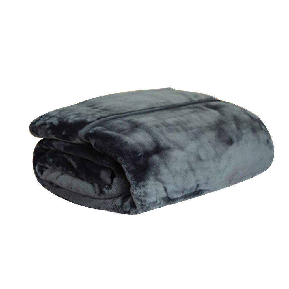HSBAIS 寝具柔らかいウォーム毛布フルサイズ - 冬毛布赤ちゃんの大人の羽根が厚くなった小さい毛布贅沢なウォッシャブル暖かいシート ベッドブランケット,dark blue_140*200cm B07K765Q2S dark blue 140*200cm