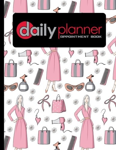 Read Online Daily Planner Appointment Book: 7 Columns Appointment Journal, Appointment Scheduler Calendar, Daily Planner Appointment Book, Cute Beauty Shop Cover (Volume 8) pdf epub