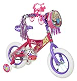"Dynacraft Barbie Girls Mini Street Bike 12"", Pink/Purple/White"