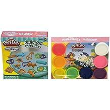 Play-Doh Rainbow Starter Pack PLUS Play-Doh Colorful Cookies Bundle