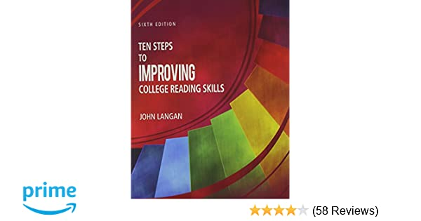 Amazon ten steps to improving college reading skills amazon ten steps to improving college reading skills 9781591944232 langan books fandeluxe Image collections